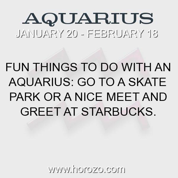 Aquarius zodiac fact