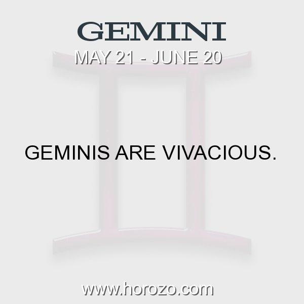 Gemini zodiac fact
