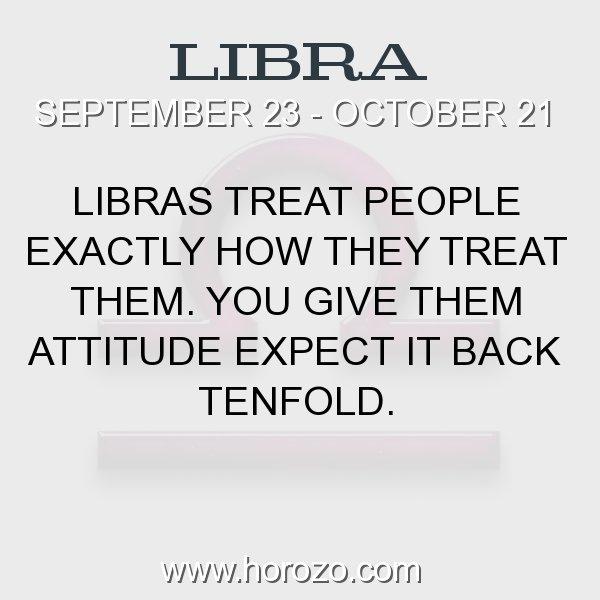 Libra zodiac fact