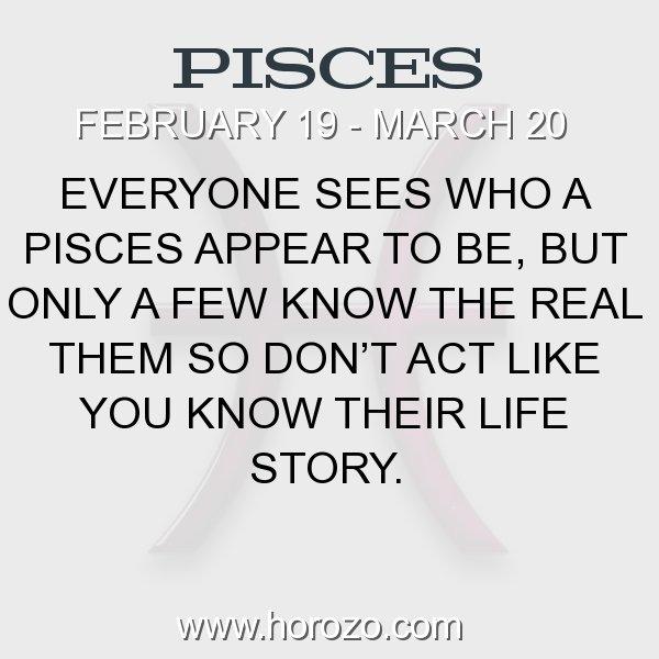 Pisces zodiac fact
