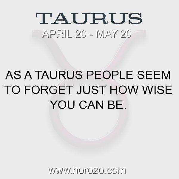 Taurus zodiac fact